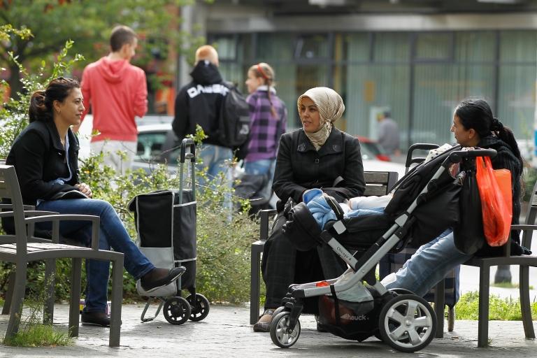 <p>Kurds in Kreuzburg.</p>