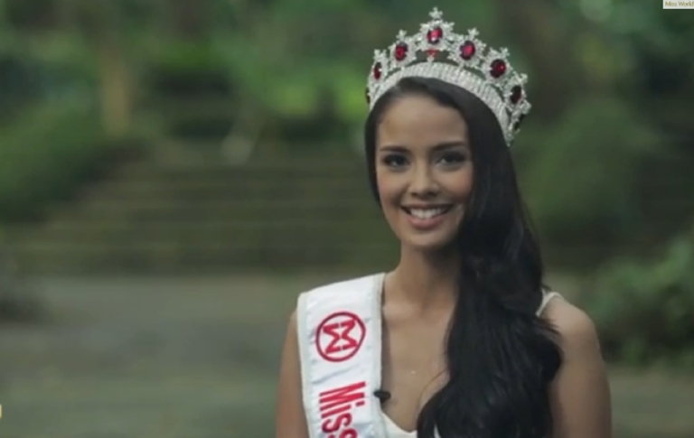 <p>Megan Young of the Philippines was crowned Miss World on Saturday night in Bali, Indonesia.</p>