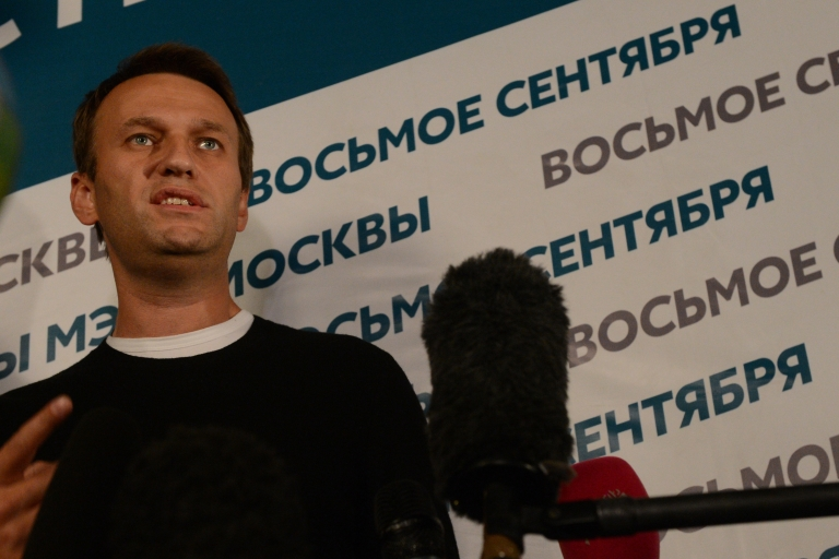 <p>Navalny has called for a recount.</p>