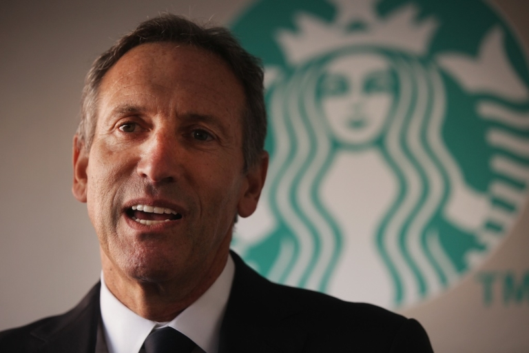 <p>Starbucks CEO Howard Schultz wants customers to leave their guns at home.</p>
