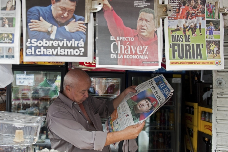 <p>Will all the news that's fit to print cease to be printed in Venezuela?</p>
