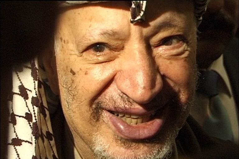 <p>Yasser Arafat.</p>