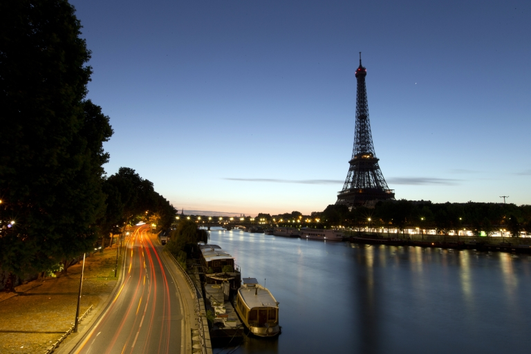 <p>A picture taken on August 10, 2013 shows the Eiffel Tower in Paris. French ministers were given