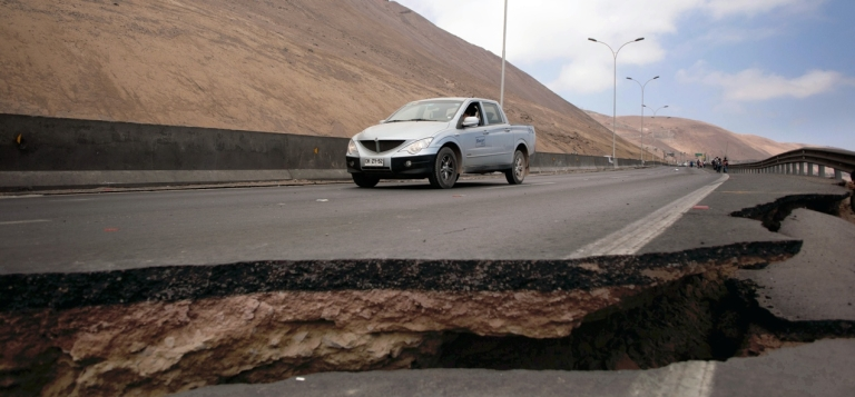 <p>A 8.2-magnitude earthquake rocked Chile hard, but it was far less damaging than previous disasters.</p>