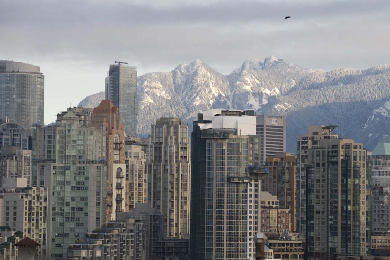 <p>The Vancouver skyline is shown on Feb. 11, 2009.</p>
