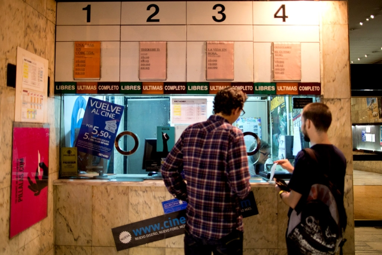 <p>The financial crisis and the high rate of illegal movie downloads have contributed to at least 40 cinemas like the Cuatro Caminos Renoir Cinemas closing their doors in Madrid, Spain in the last 10 years.</p>