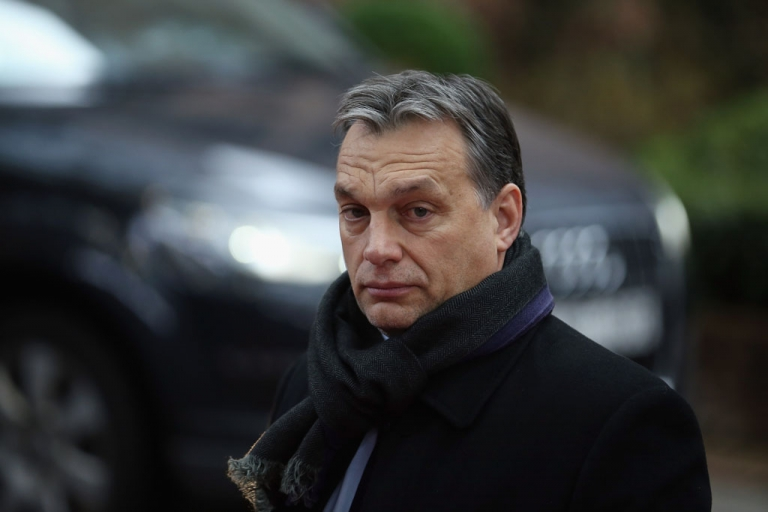 <p>Hungarian Prime Minister Viktor Orban.</p>