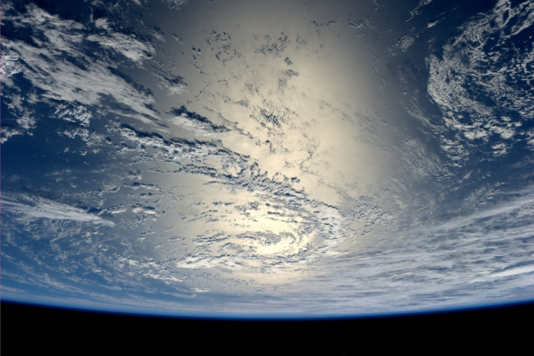 <p>Earth as seen from space.</p>