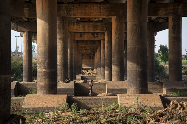 <p>Scenes along the Kaduna River in Kaduna, Nigeria on April 3, 2013. Nigeria is Africa's most populous country and it is also one of the world's most important oil producers. Fifty percent of the population lives in poverty.</p>