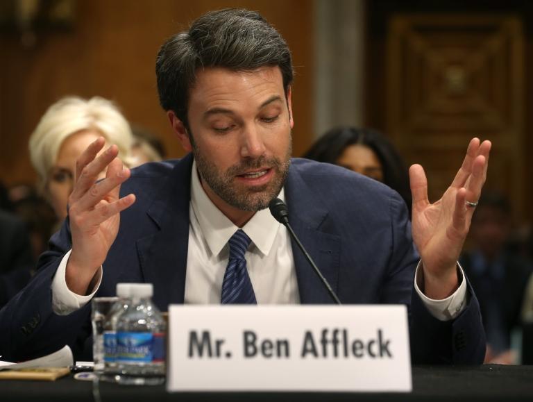 <p>Ben Affleck at Dirksen Senate Office Building on February 26, 2014 in Washington, DC.</p>