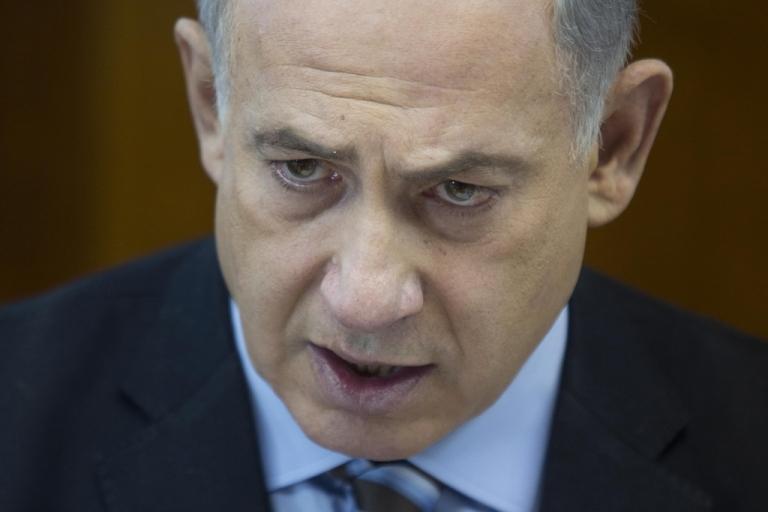 <p>Israeli Prime Minister Benjamin Netanyahu.</p>
