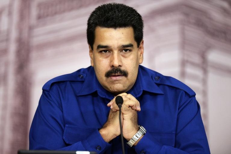<p>Venezuelan President Nicolas Maduro.</p>