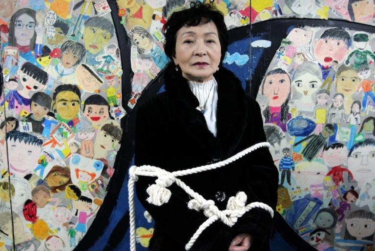 <p>Kim Boon-Nye, 73, who defected from North Korea to South Korea in 2001, participates in a protest over North Korean human rights on January 18, 2007 in Seoul. This week, a United Nations commission accused North Korea of crimes against humanity, but China will likely ensure Kim Jong Un's immunity.</p>