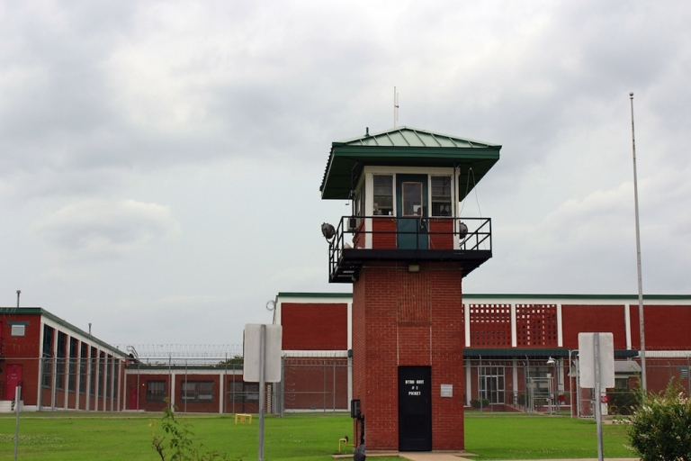 <p>The Wynne Unit is pictured on May 21, 2013 in Huntsville, one of the seven prison units in Walker County, Texas.</p>