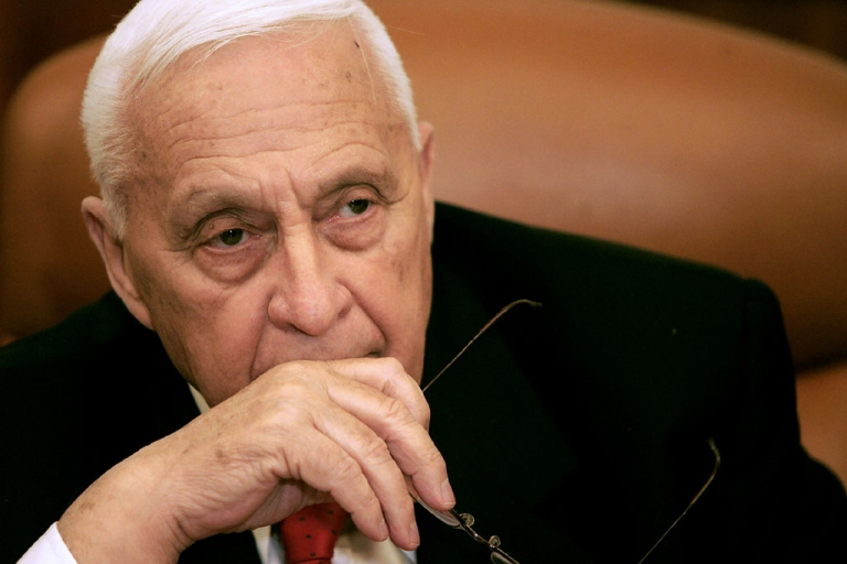 <p>This file photo shows former Israeli Prime Minister Ariel Sharon at his office in Jerusalem on Jan. 4, 2006. Admired by some and reviled by others, Sharon's health is failing eight years after he suffered a massive stroke.</p>