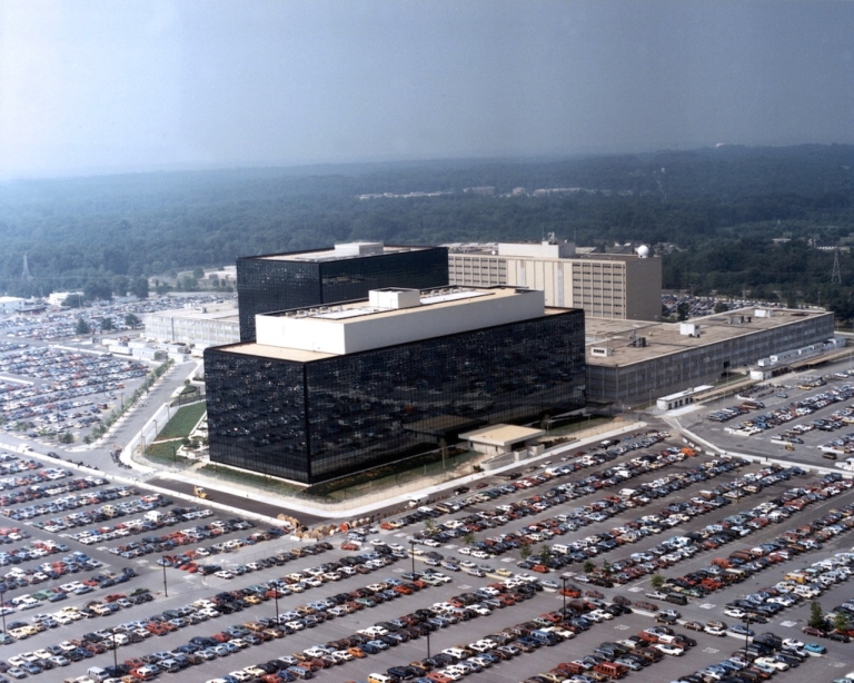 <p>This undated photo provided by the NSA shows its headquarters in Fort Meade, Maryland.</p>