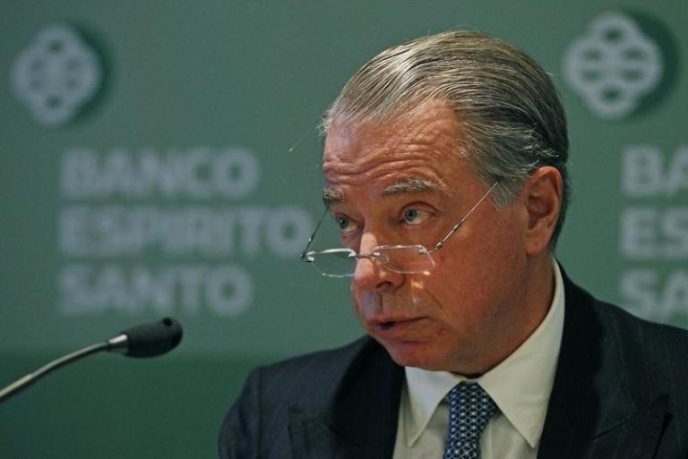 <p>Sudden fall from grace: Espirito Santo CEO Ricardo Salgado.</p>