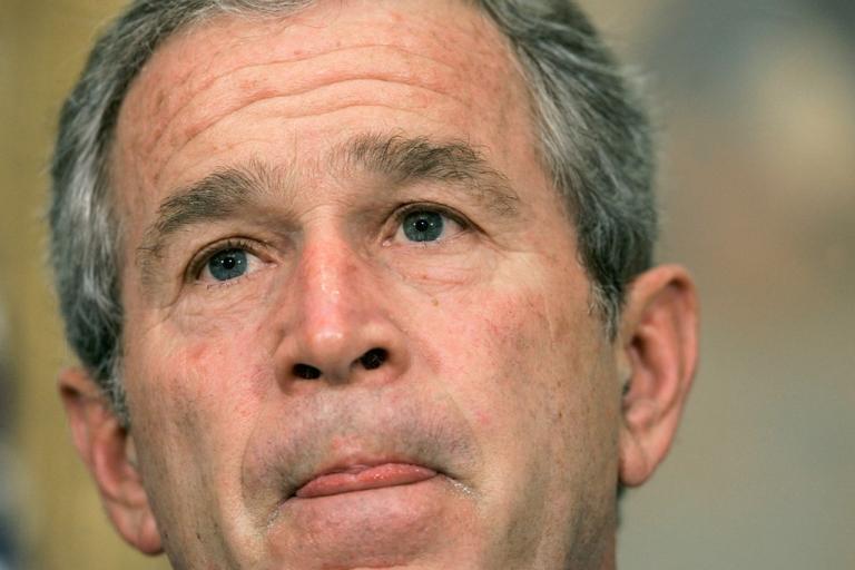 <p>Former US President George W. Bush.</p>