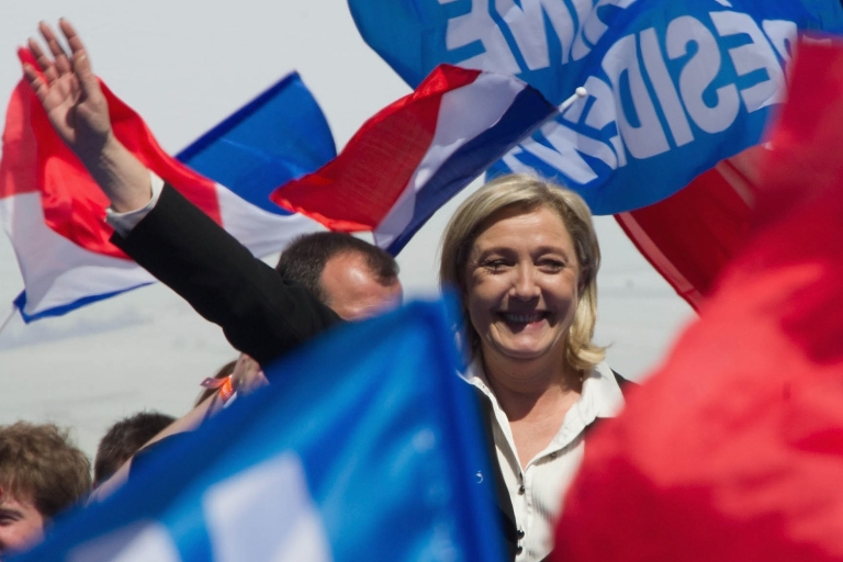 <p>The end of two-party politics in France?</p>