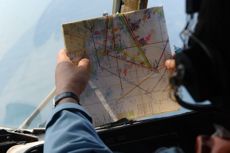 <p>The search for Malaysia Airlines flight MH370 goes on.</p>