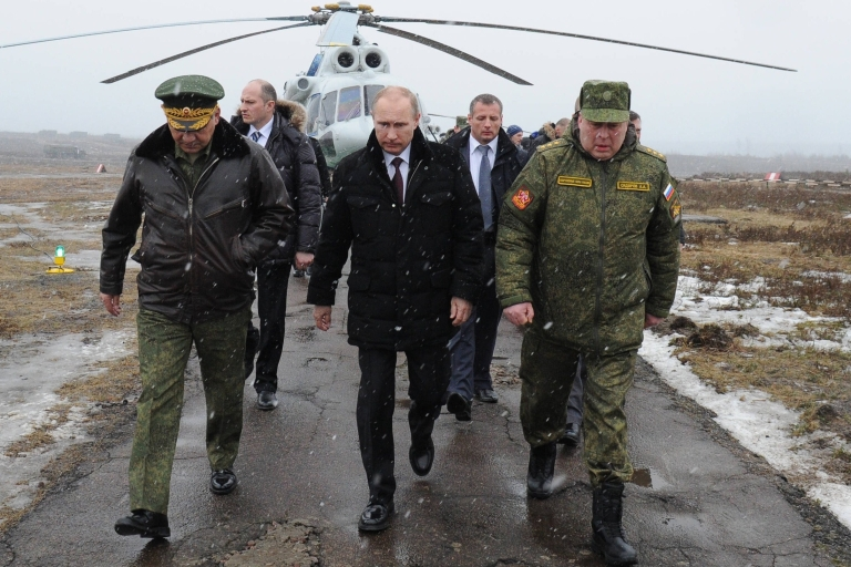 <p>Putin has been waging war since even before he became president.</p>
