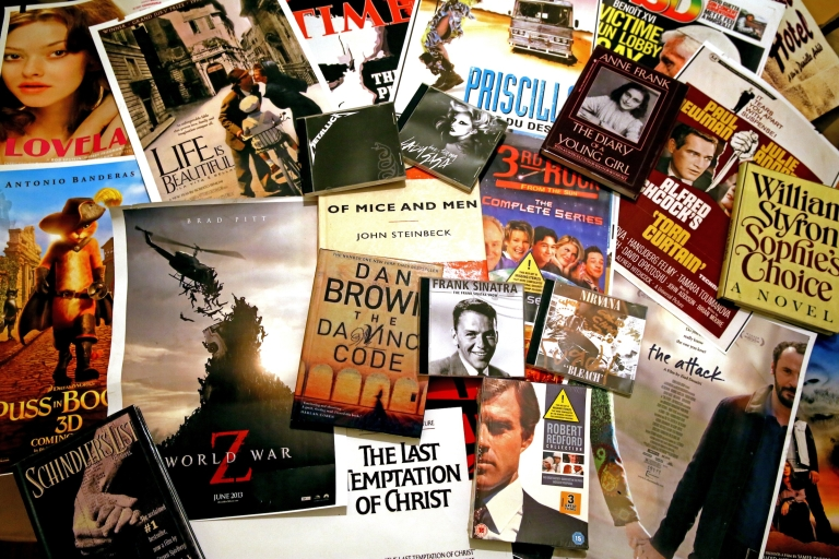 <p>A series of films and books censored in Lebanon.</p>