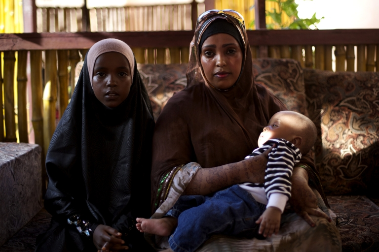 <p>Ifrah Osman decided to return to Somalia after a raid on her neighborhood in Nairobi, and a rise in the price of bribes demanded by Kenyan police.</p>