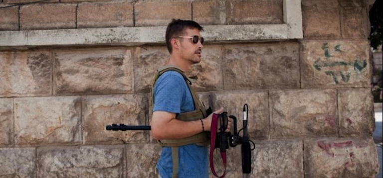 <p>American journalist James Foley.</p>