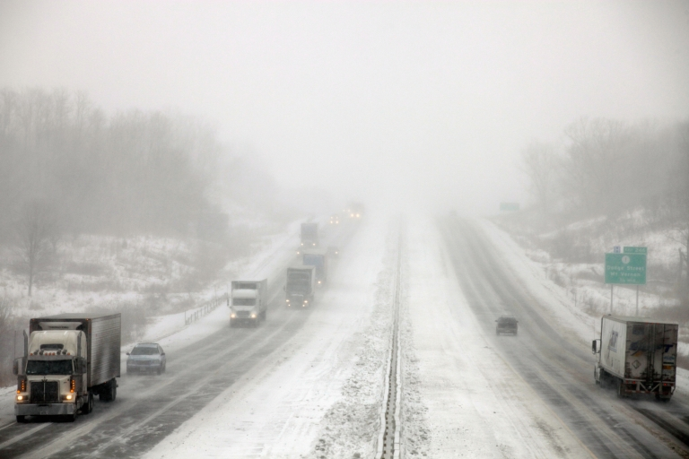 <p>A multiple-car pileup in Maine was the latest in a series of road incidents caused by the snowstorm Nemo that has affected the northeast US and Canada.</p>