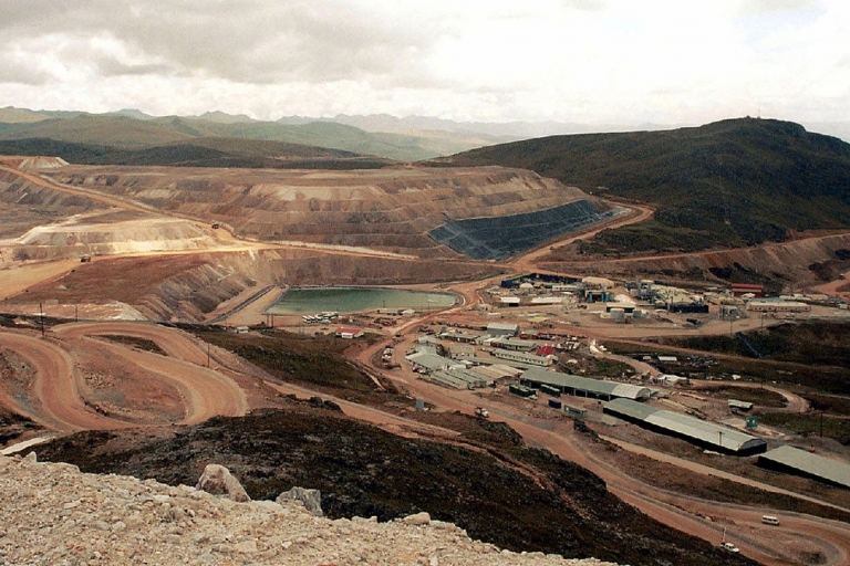 <p>The gold mine Yanacocha, in Cajamarca. Local people haven't always welcomed major mining companies. (AFP/Getty Images)</p>