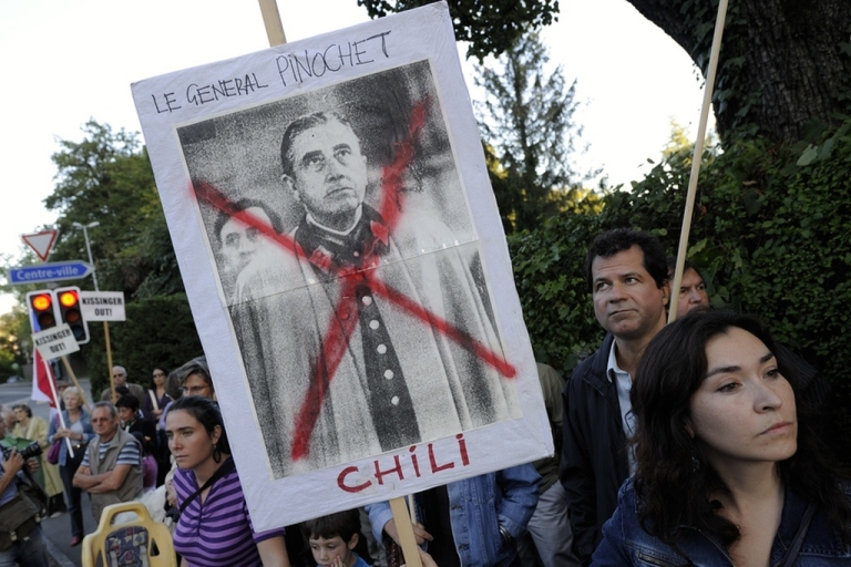 <p>Anger flares over the Pinochet regime.</p>