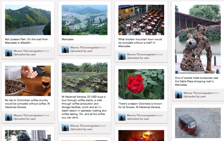 <p>Even GlobalPost is on Pinterest. This screenshot is from our Pinterest travel guide to Colombia.</p>