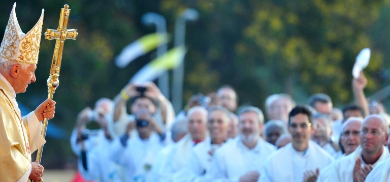 <p>Pope Benedict XVI on Tuesday visits Cuba's Virgin of Charity sanctuary, marking the 400th anniversary of the the discovery of the image of the Virgin, Cuba's patron saint.</p>