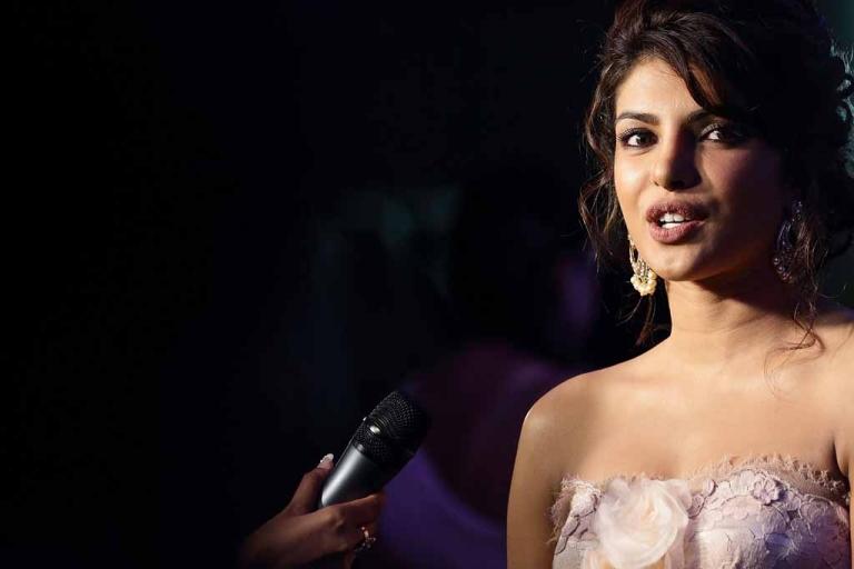 <p>Bollywood actress Priyanka Chopra speaks at the 2012 International India Film Academy Awards in Singapore on June 9, 2012.</p>