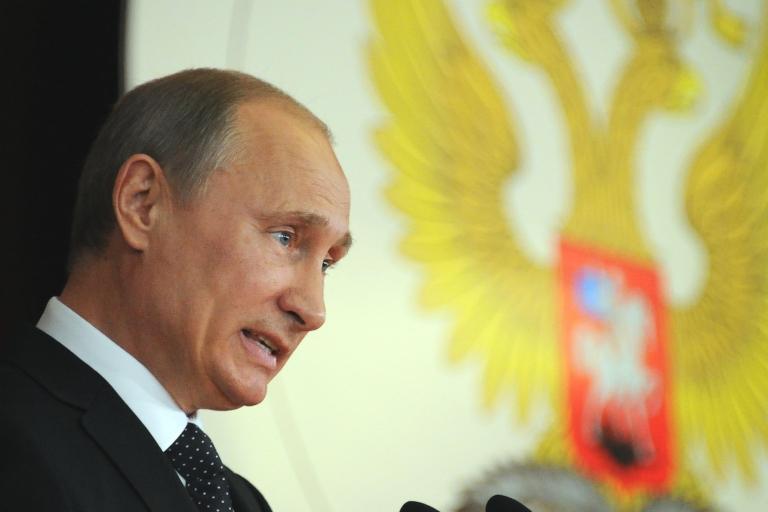 <p>Will Vladimir Putin get away with it this time?</p>