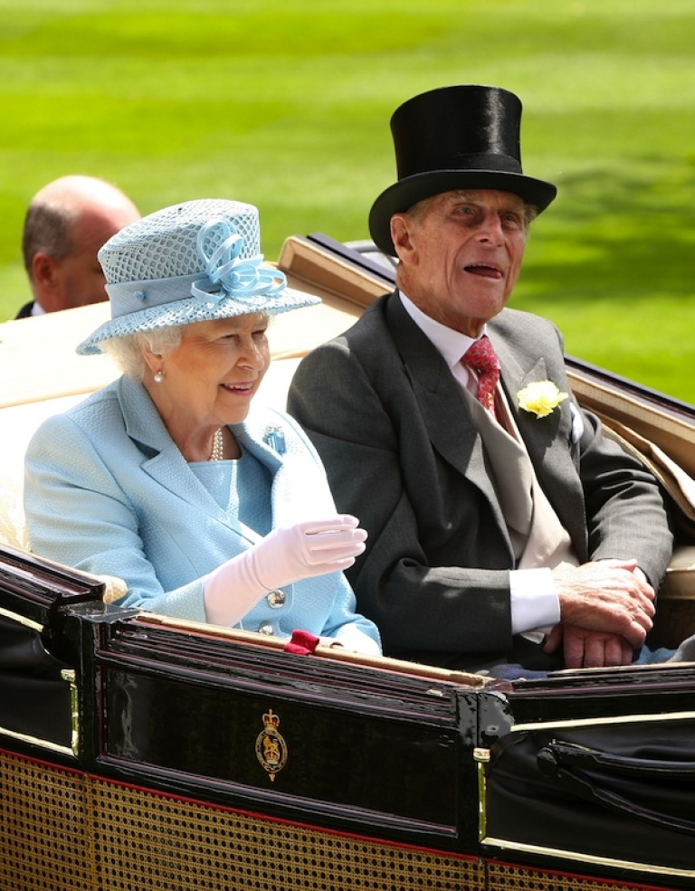 <p>Queen Elizabeth II and Prince Philip attend day one of Royal Ascot at Ascot Racecourse on June 19, 2012 in Ascot, England.</p>