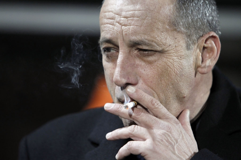 <p>Every 15 cigarettes you smoke cause a tumor, a new quit-smoking advertising campaign in England says. The ads, launched December 28, 2012, feature graphic images of cancer growing inside cigarettes.</p>