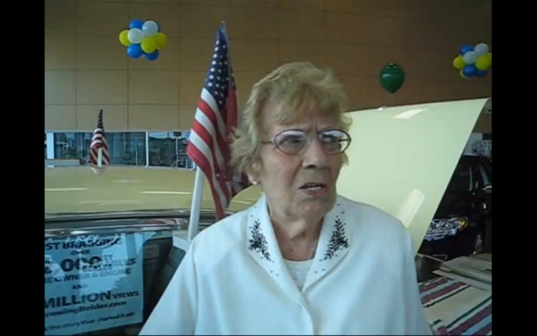 <p>Rachel Veitch, 93, is selling her 1964 Mercury after almost 600,000 miles.</p>