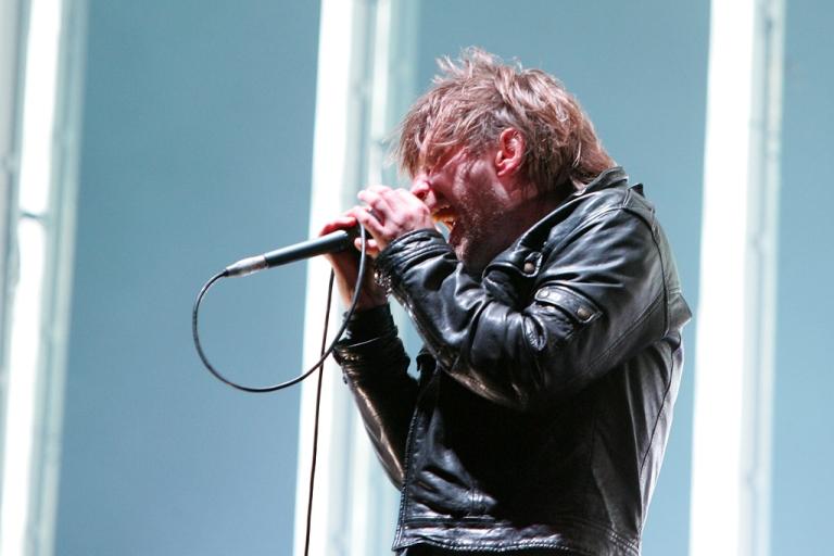 <p>Thom Yorke of Radiohead.</p>