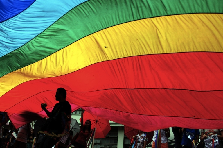 <p>There won't be any rainbow flags at Cameroon's gay hate day parade, and human rights leaders have called on the president to step in and decriminalize homosexuality.</p>