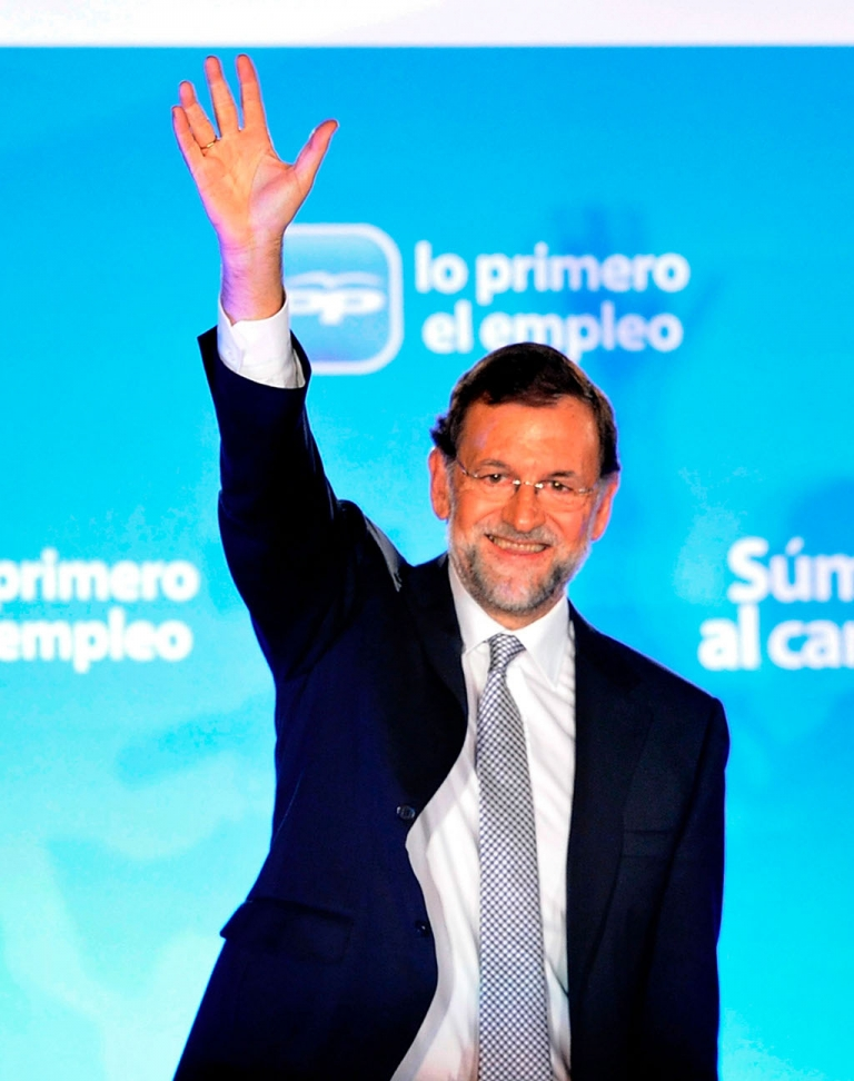 <p>Spain's new Prime Minister Mariano Rajoy was smiling last night.  How long will that smile last, given the awesome scale of Spain's economic crisis?</p>