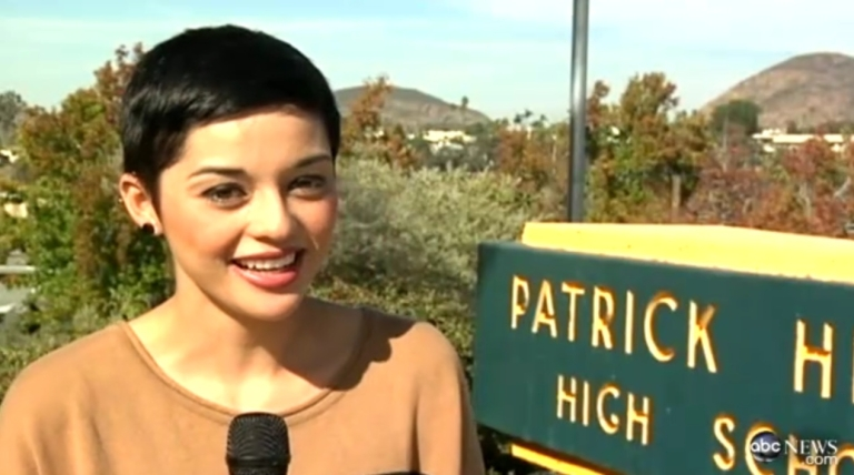 <p>Rebeca Arellano, a senior at Patrick Henry High School in San Diego, Calif., was voted homecoming king this year.</p>