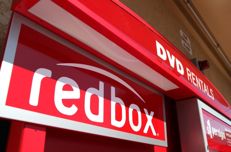 <p>A RedBox video rental kiosk in San Rafael, Calif., on Aug. 14, 2009.</p>