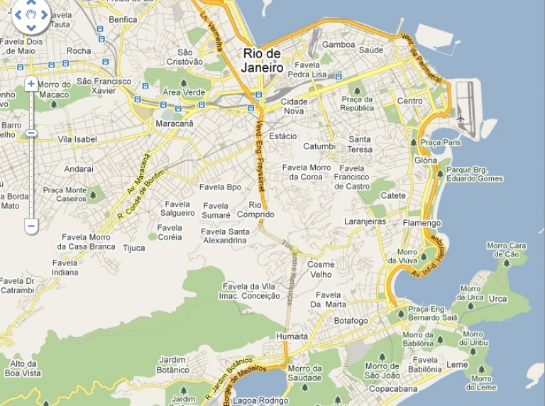 <p>Google has agreed to change its Rio de Janeiro maps to de-emphasize shantytowns known as favelas.</p>