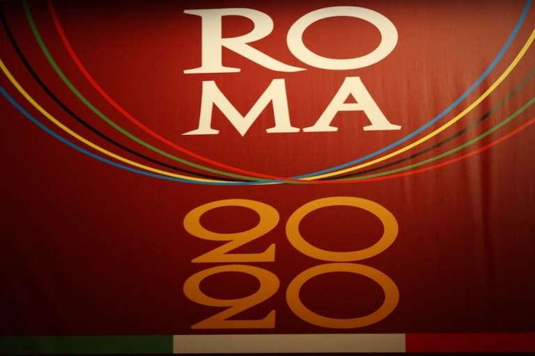 <p>Gianni Alemanno, the Mayor of Rome, presented the city's candidature for the 2020 Summer Olympic Games at Auditorim Palace on March 5, 2010. The Italian city has since pulled its bid.</p>