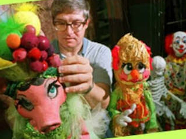 <p>Florida puppeteer Ronald Brown has been accused of possessing child porn and is said to have plotted to kidnap, cook and eat children.</p>