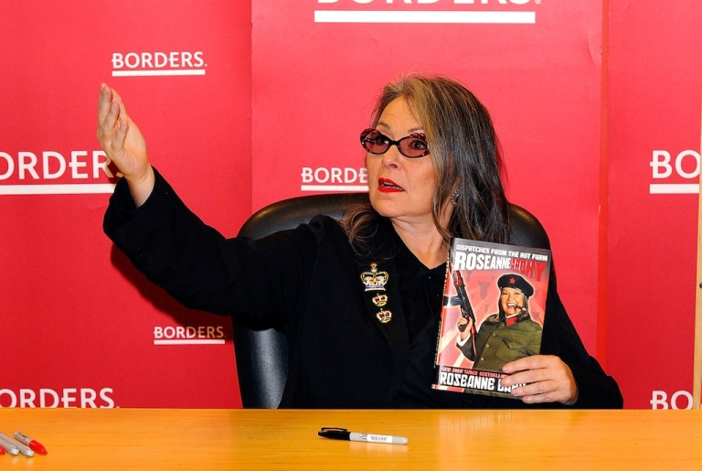 <p>Roseanne Barr promotes her book 'Roseannearchy' at Borders Columbus Circle on January 6, 2011 in New York City.</p>