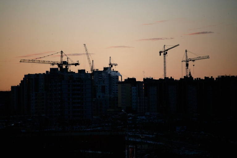 <p>A general view over the city at sunset on November 16, 2011 in Volgograd, Russia. Volgograd, formerly Stalingrad, is one of thirteen proposed host cities as Russia prepares to host the 2018 FIFA World Cup.</p>