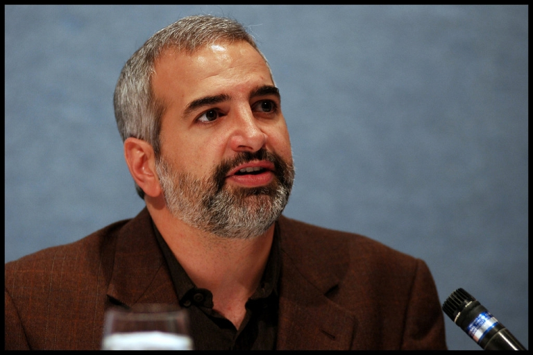 <p>Two-time Pulitzer Prize winning journalist Anthony Shadid in 2008.</p>