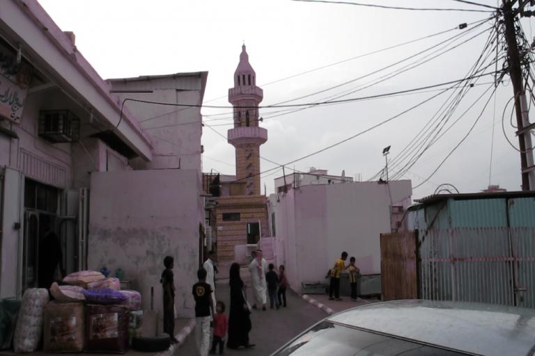 <p>The village of Hezna, Saudi Arabia.</p>